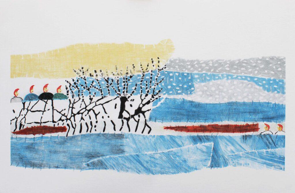 Britta Marakatt-Labba Konstnär - konstverk Vadvardetvisa - Våga Se Konst
