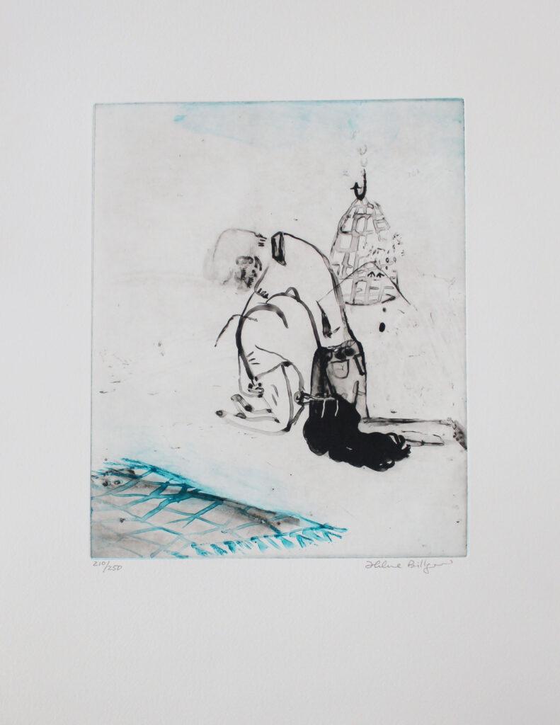 Helene Billgren konstnär - konstverk Akrobat - Våga Se Konst