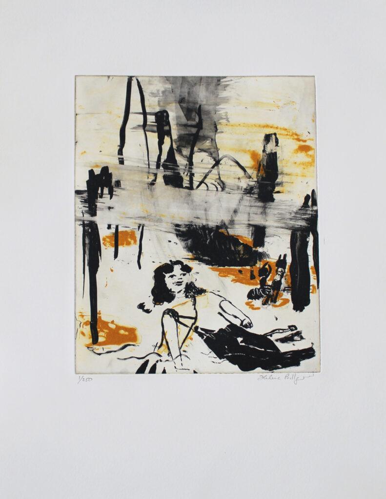 Helene Billgren konstnär - konstverk Gulafaran - Våga Se Konst