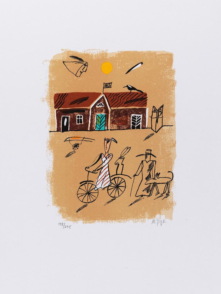 Madeleine Pyk konstnär - konstverk 3 - Våga Se Konst