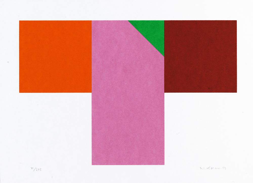 Konstnär Nils Kölare. Konstverk benämning NIKÖ2 'Ängel 2', serigrafi, 28×36 cm, upplaga 295. Våga Se - Konst