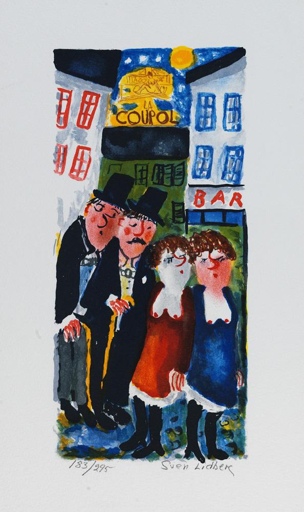 Sven Lidberg konstnär - Konstverk 2 - Våga Se Konst