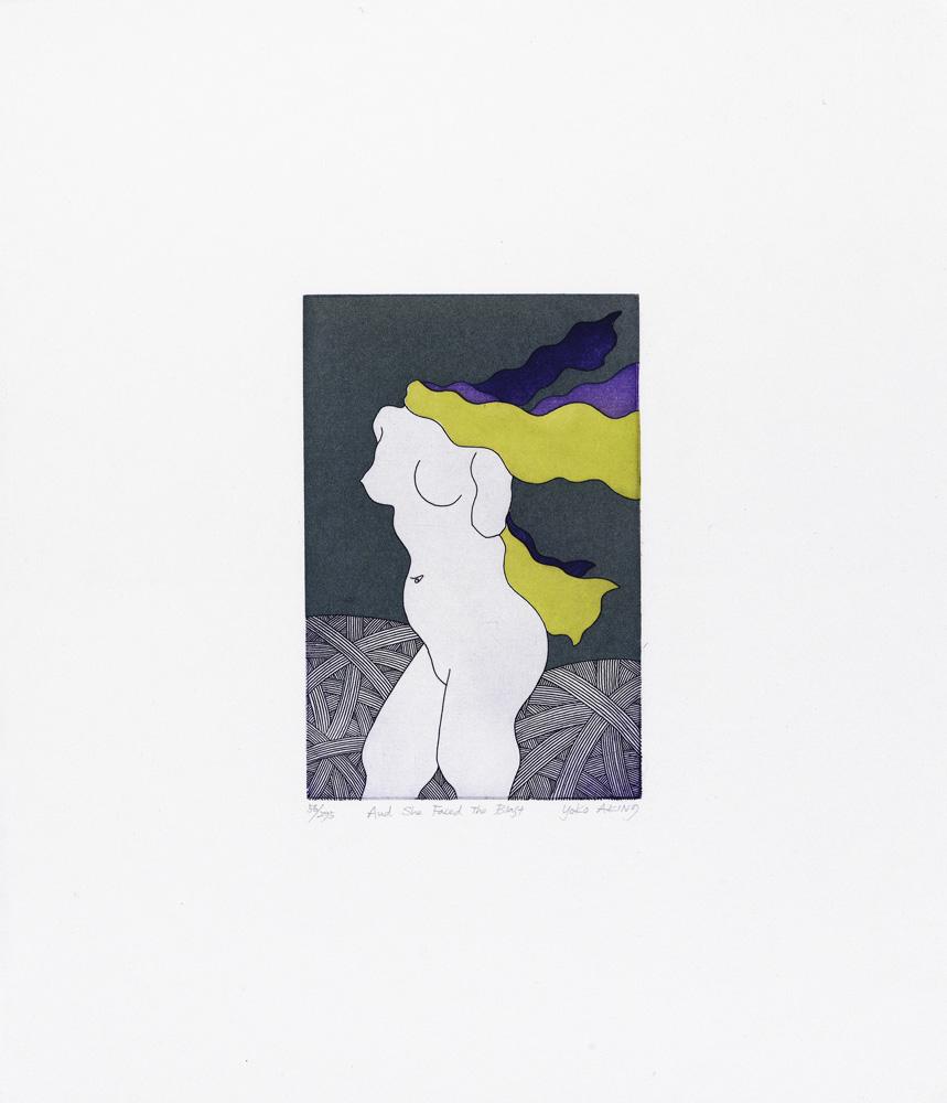 Yoko Akino konstnär - konstverk 3 - Våga Se Konst