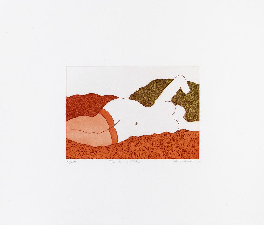 Yoko Akino konstnär - konstverk 5 - Våga Se Konst